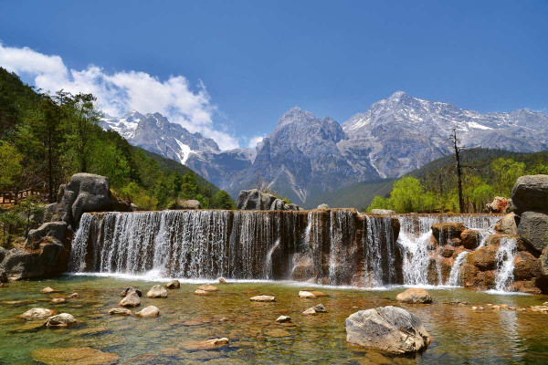 Vliestapete Alpen 375x250