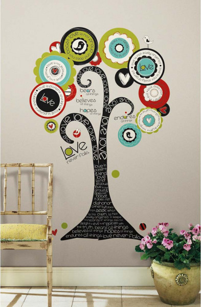 Wandtattoo Baum der Hoffnung