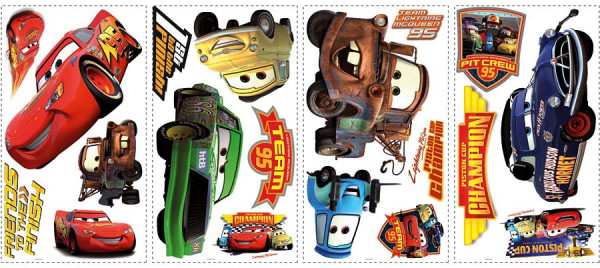 Wandsticker Disney Cars Champions