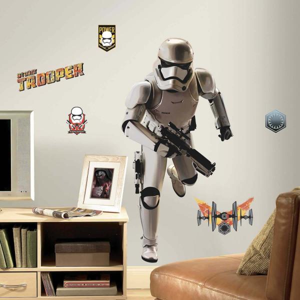 Wandsticker Star Wars Erwachen der Macht Sturmtruppler Jugendzimmer