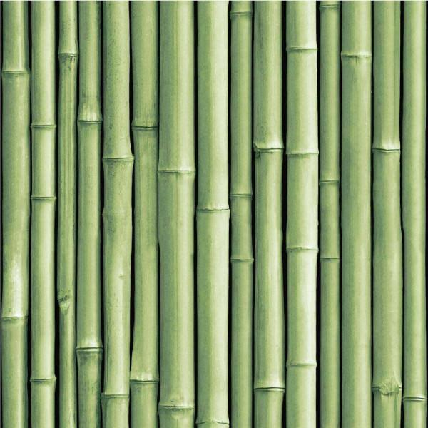 Selbstklebende Tapete Bambus grün