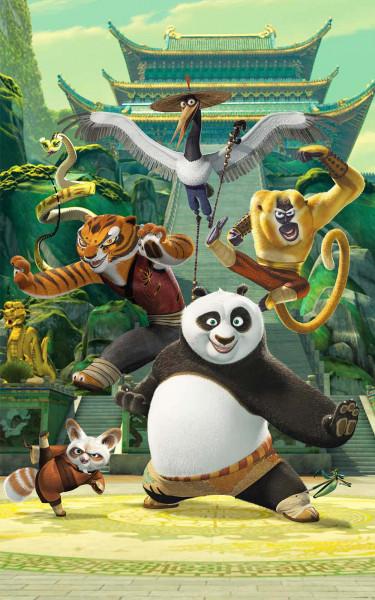 Fototapete Kung Fu Panda Poster