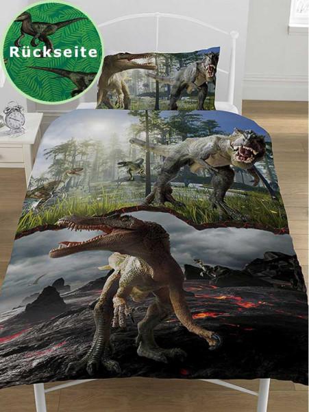 Bettwäsche Jurassic World Dinosaurier Pretador
