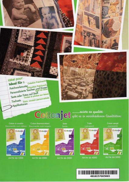 Cotton-Jet Baumwollstoff Jeansoptik zum Bedrucken