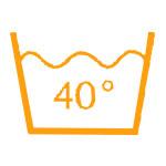 40° waschbar