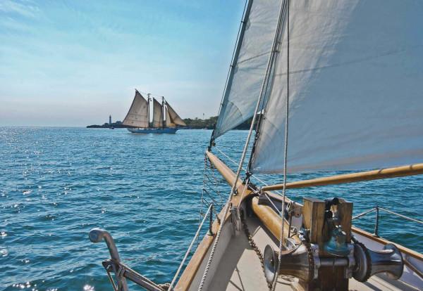 Fototapete Segelboote