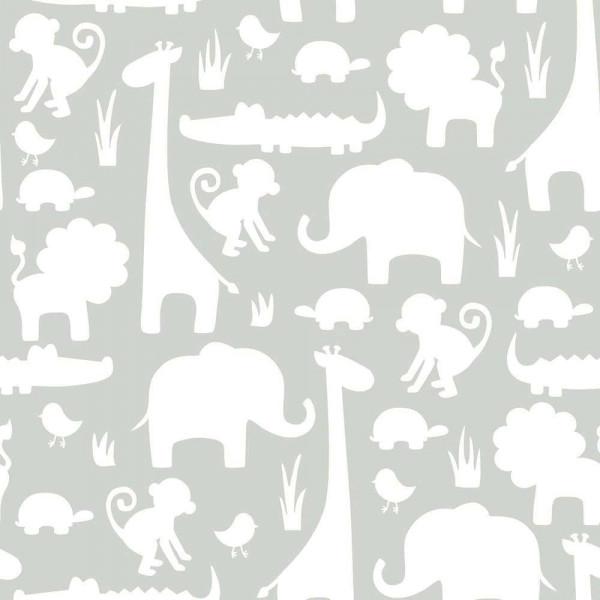 Tapete selbstklebend Dschungeltiere