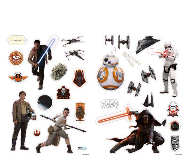 Wandsticker Star Wars Erwachen der Macht