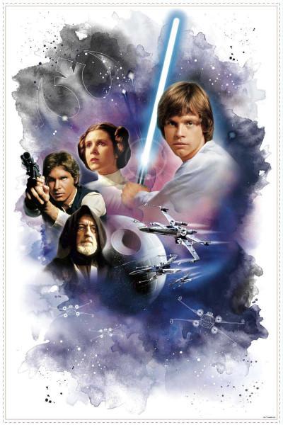 Wandsticker Star Wars eine neue Hoffnung