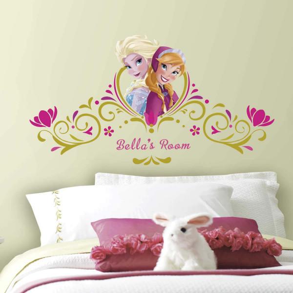 Wandsticker Disney Frozen Bett Kopfteil Kinderzimmer