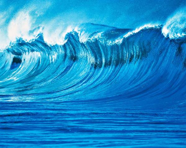Fototapete Vlies Wandbild Die Welle