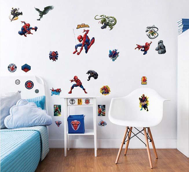 Walltastic wandsticker marvel spiderman tapetenwelt for Wandsticker jugendzimmer