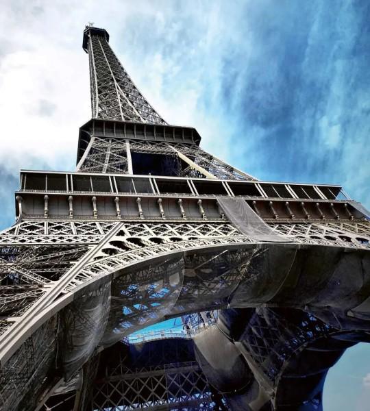 Vliestapete Eiffelturm Paris 225x250