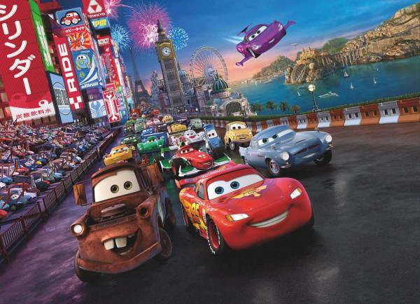 Fototapete Disney Cars Rennfahrer