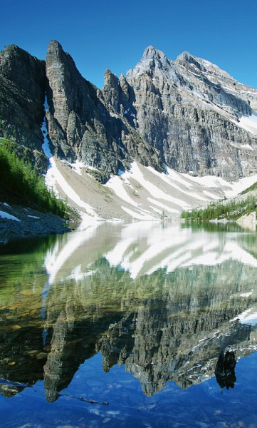 Vlies Fototapete Lake Agnes Kanada 150x250