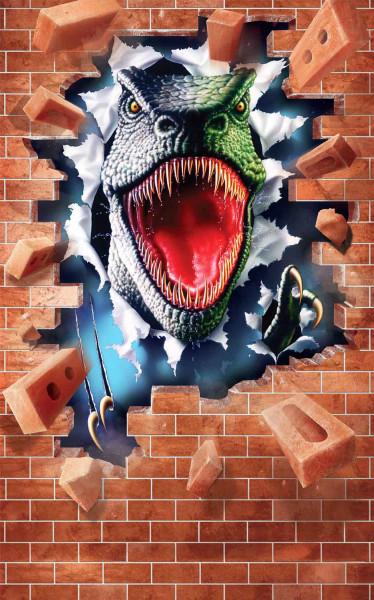 Walltastic Fototapete Dinosaurier Poster