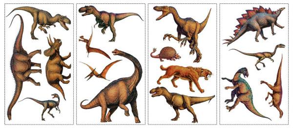Wandsticker Dinosaurier Park