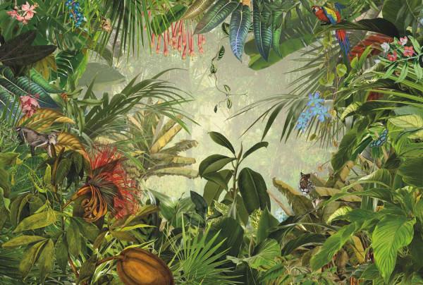Vliestapete Fototapete Dschungel Wildniss Esszimmer