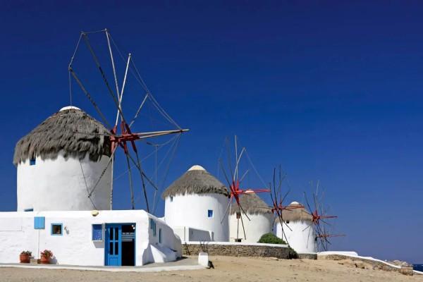 Vliestapete Windmühlen 375x250