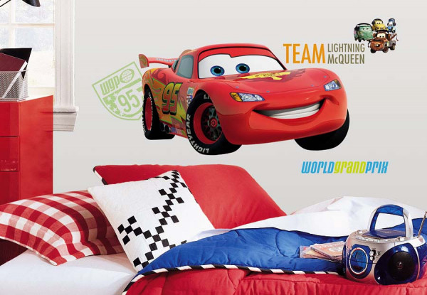 Wandsticker Lightning McQueen Disney Cars