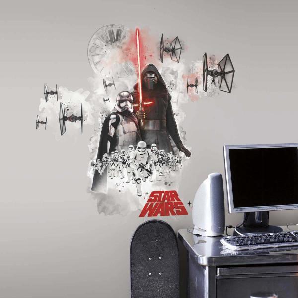 Wandsticker Star Wars dunkle Seite der Macht Jugendzimmer