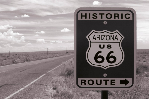 Vliestapete Route 66 375x250