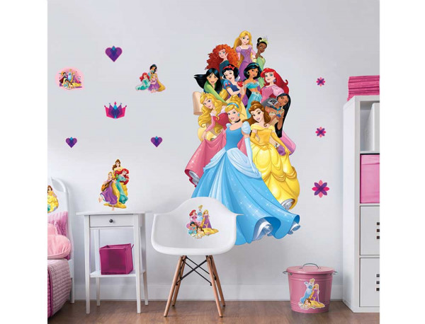 Walltastic Wandsticker Disney Princess XXL Dekoset
