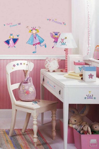 Wandtattoo kleine Prinzessin Mädchenzimmer