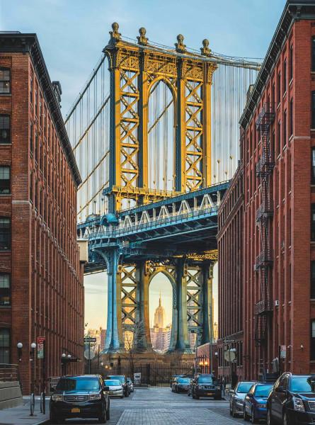 Vliestapete Fototapete Brooklyn New York