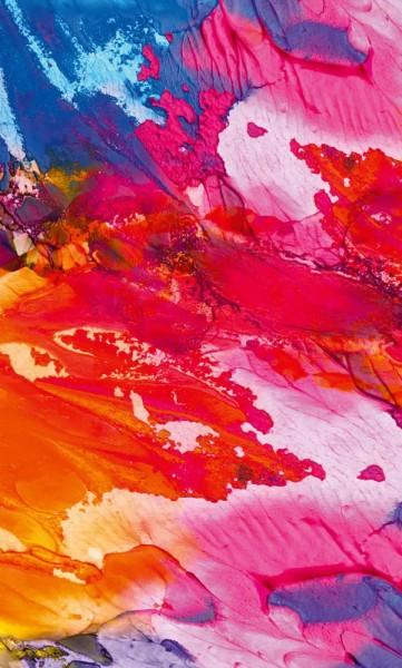 Vlies Fototapete Explosion der Farben 150x250
