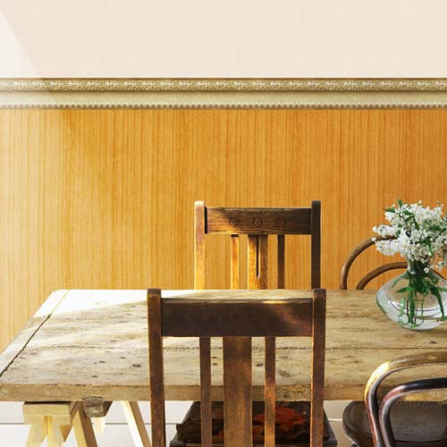 Selbstklebende Wandtapete Holz Kneipe