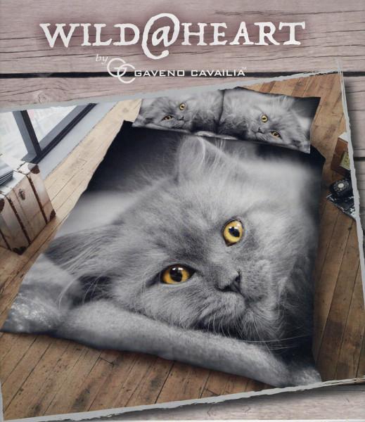 Bettwäsche Kuschel-Katze 3D
