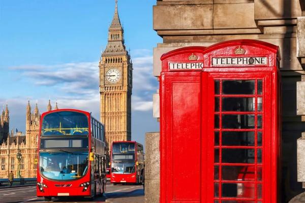 Vliestapete Glockenturm London 375x250