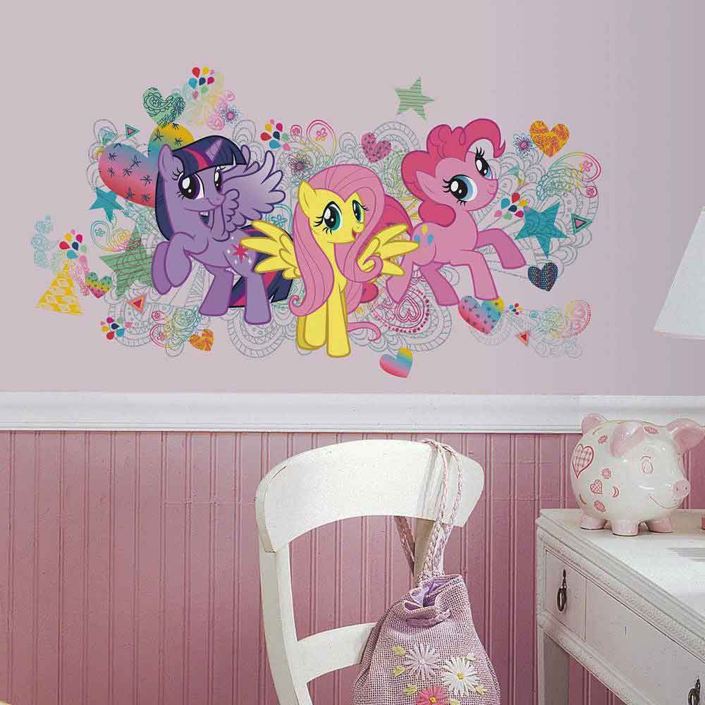 RoomMates Wandsticker My little Pony XXL  tapetenwelt
