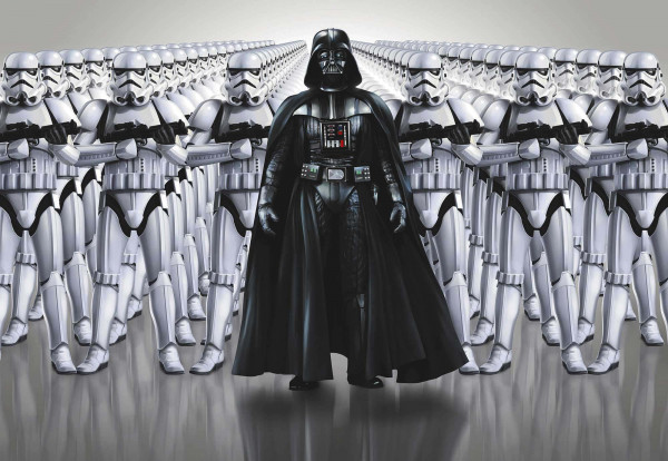 Fototapete Star Wars Imperium Darth Vader