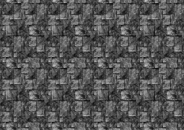 Fototapete grauer Mauerstein