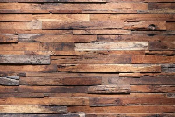 Vliestapete Holzwand 375x250
