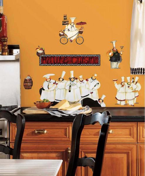 Wandsticker Koch Küchenchefs
