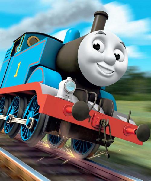 Fototapete Lokomotive Thomas