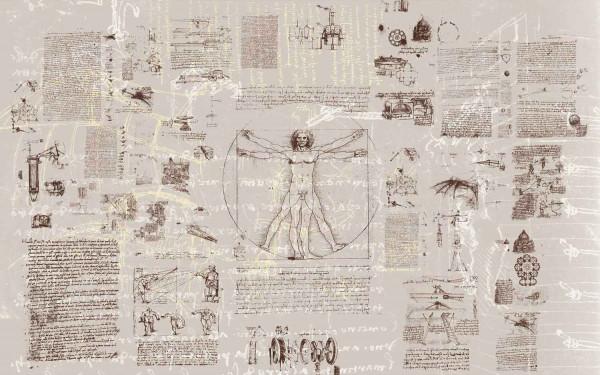 Vliestapete Fototapete Leonardo Da Vinci