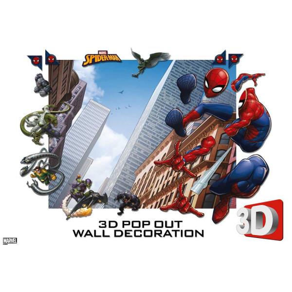 3D Fototapete Spider-Man