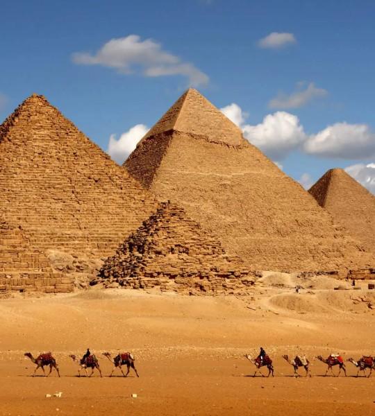 Vliestapete Pyramiden 225x250
