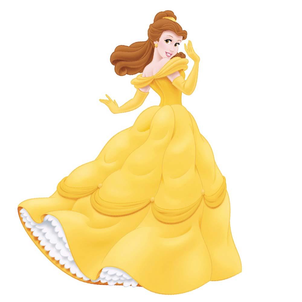 Wandsticker Disney Princess Belle   tapetenwelt