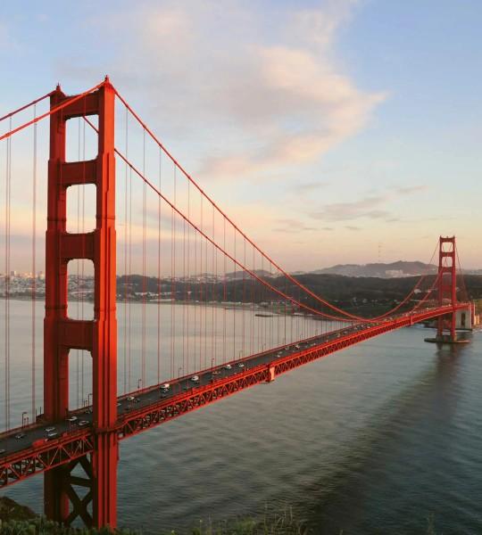 Vliestapete Golden Gate Bridge 225x250