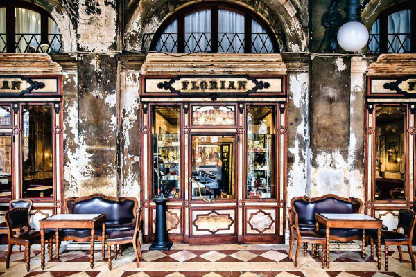 Vlies Fototapete Kaffeehaus Florian Venedig
