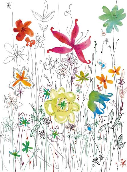 Vliestapete Fototapete Blüten Blumen Flora
