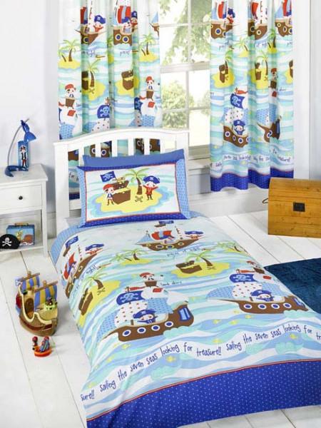 Bettwäsche Piraten der sieben Meere