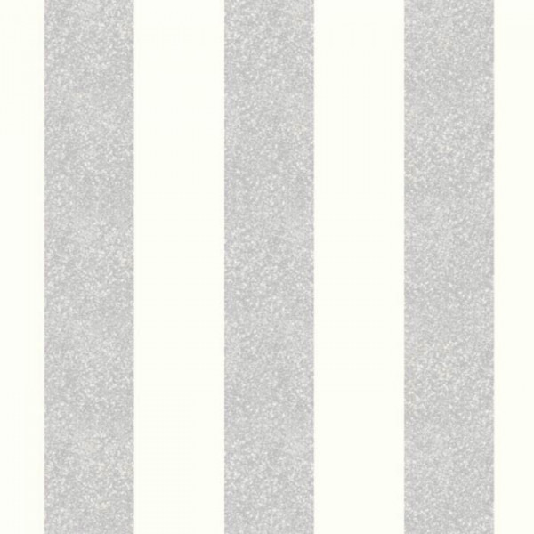 Vlies Tapete Glitterati Platinum Streifen