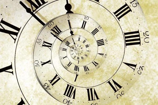 Vliestapete Uhrzeit 375x250