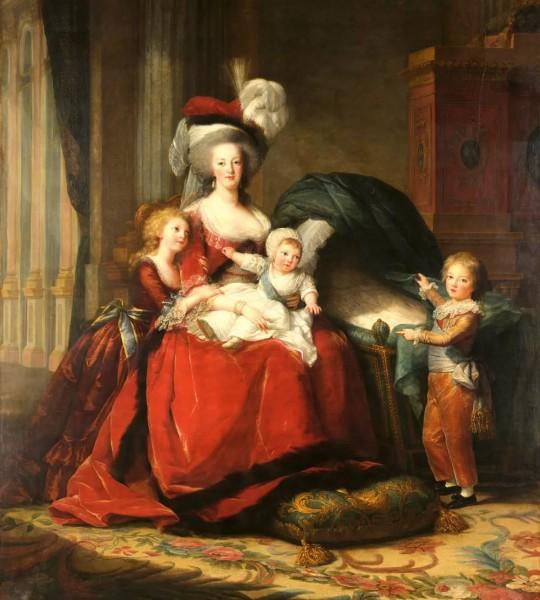 Vliestapete Marie Antoinette Vigeé la Brun 225x250